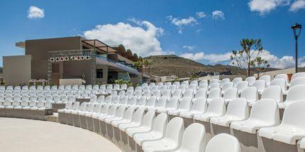 Amfiteater på hotell Avra Imperial på Kreta, Grekland.