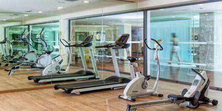 Gym på hotell Avra Imperial på Kreta, Grekland.