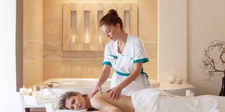 Massage på hotell Avra Imperial på Kreta, Grekland.