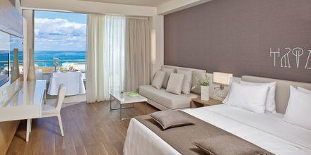 Deluxerum på hotell Avra Imperial på Kreta, Grekland.