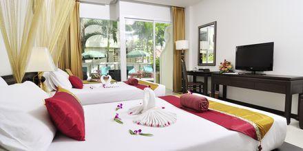 Deluxerum på Baan Karon Buri Resort på Phuket, Thailand.