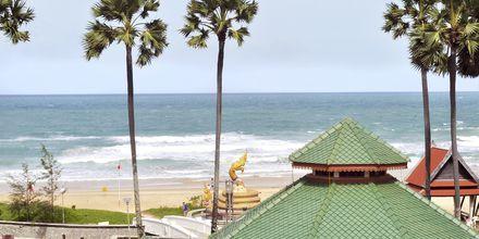Utsikt från hotellet.