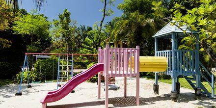 Lekplats på Baan Khaolak Beach Resort, Thailand.