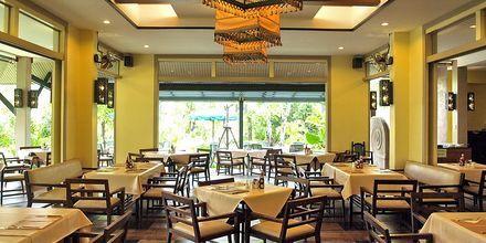 Restaurangen på Baan Khaolak Beach Resort, Thailand.
