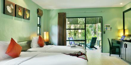 Dubbelrum på Baan Khaolak Beach Resort, Thailand.
