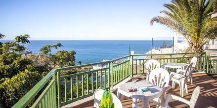 Poolbar på hotell Babalu i Puerto Rico, Gran Canaria.