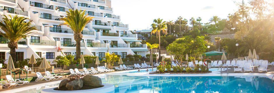 Pool på hotell Babalu i Puerto Rico, Gran Canaria.