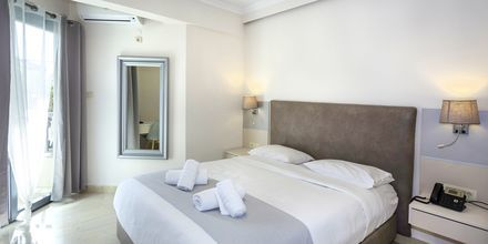 Dubbelrum på hotell Bacoli i Parga, Grekland.