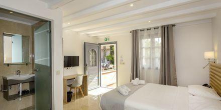Enrumslägenhet på hotell Bacoli i Parga, Grekland.