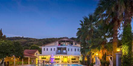Hotell Bacoli i Parga, Grekland.