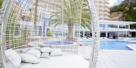 Poolområdet på hotell Bahia Principe Sunlight Coral Playa på Mallorca, Spanien.