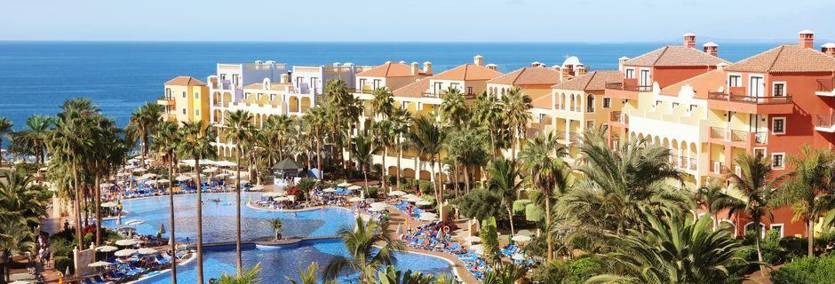 Hotell Bahia Principe Costa Adeje i Playa de las Americas på Teneriffa.