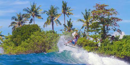 Att surfa på Bali är en fantastisk upplevelse.