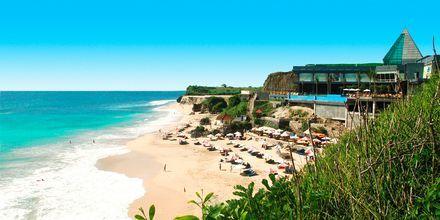 Strand på Bali, Indonesien.