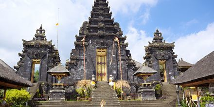 Pura Besakih-templet på Bali, Indonesien.
