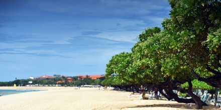 Nusa Dua Beach på Bali, Indonesien.