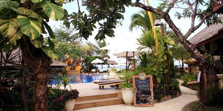Lata dagar på hotell Bali Reef Resort i Tanjung Benoa, Bali.
