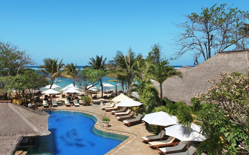 Bali Reef Resort i Tanjung Benoa, Bali.