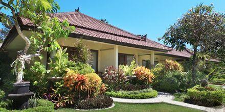 Bungalow på Bali Reef Resort i Tanjung Benoa, Bali.