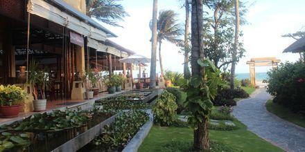 Restaurang Strawy på hotell Bamboo Village Resort i Phan Thiet, Vietnam.