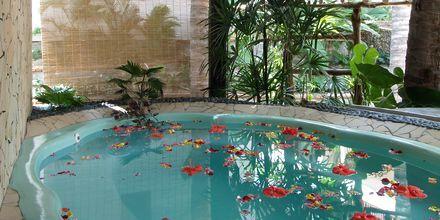 Spaanläggningen på hotell Bamboo Village Resort i Phan Thiet, Vietnam.