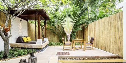 Deluxerum i bungalow på Bandara Resort And Spa på Koh Samui, Thailand.