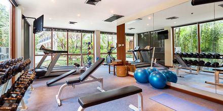 Gym på Bandara Resort and Spa, Koh Samui, Thailand.