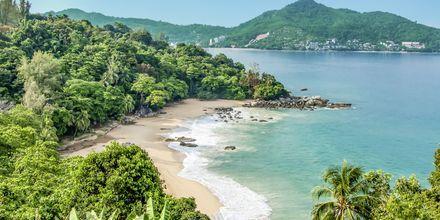Bangtao Beach på Phuket, Thailand.