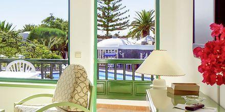 Tvårumslägenhet på hotell Barcarola Club i Puerto del Carmen, Lanzarote.