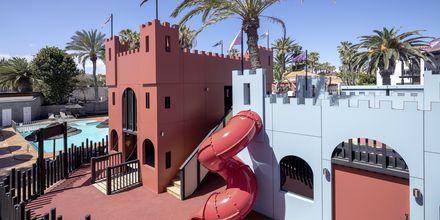 Lekplats på hotell Barcelo Castillo Beach Resort på Fuerteventura.