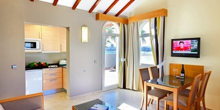 Tvårumslägenhet på hotell Barcelo Castillo Beach Resort på Fuerteventura.