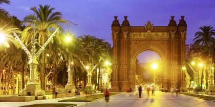 Triumfbågen i Barcelona, Spanien.