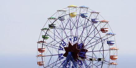 Pariserhjulet i Barcelona.