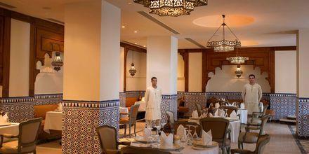 Egyptisk restaurang på hotell Baron Palace Resort i Sahl Hasheesh, Egypten.
