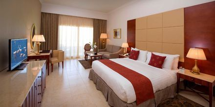 Dubbelrum på hotell Baron Palace Resort i Sahl Hasheesh, Egypten.