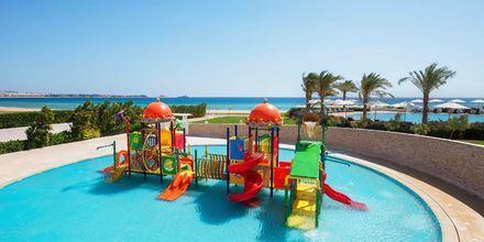 Barnpoolen på hotell Baron Palace Resort i Sahl Hasheesh, Egypten.