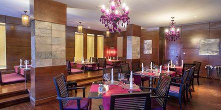 Restaurang på hotell Baron Palace Resort i Sahl Hasheesh, Egypten.