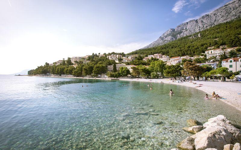 Strand i Baska Voda.