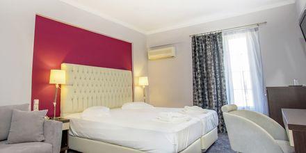 Deluxerum på hotell Bel Air på Lefkas, Grekland.