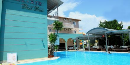 Poolen på hotell Bel Air på Lefkas, Grekland.