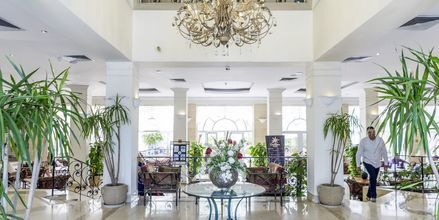 Lobbyn på hotell Bella Vista i Hurghada, Egypten.