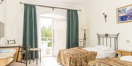 Dubbelrum på hotell Bella Vista i Hurghada, Egypten.