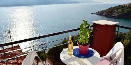 Dubbelrum på hotell Bella Vista på Samos, Grekland.