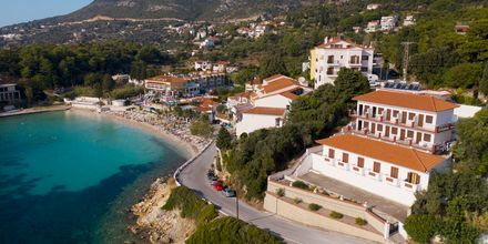 Hotell Bella Vista på Samos, Grekland.