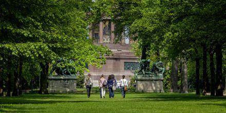 Tiergarten i Berlin, Tyskland.