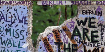 Rester från Berlinmuren