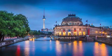 Museiön, eller Museumsinsel som den heter på tyska, i Berlin.