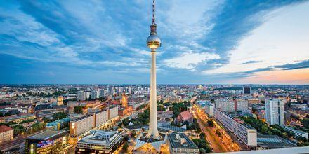 Tv-tornet i Berlin - en känd symbol.