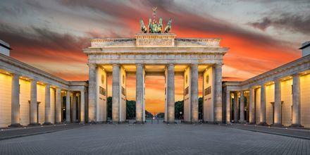 Brandenburger Tor i Berlin, Tyskland.