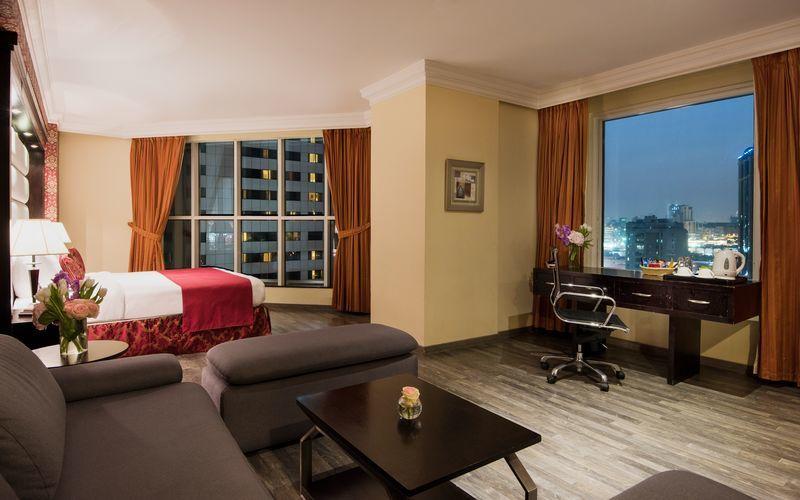 Deluxerum på Best Western Plus Doha i Doha.